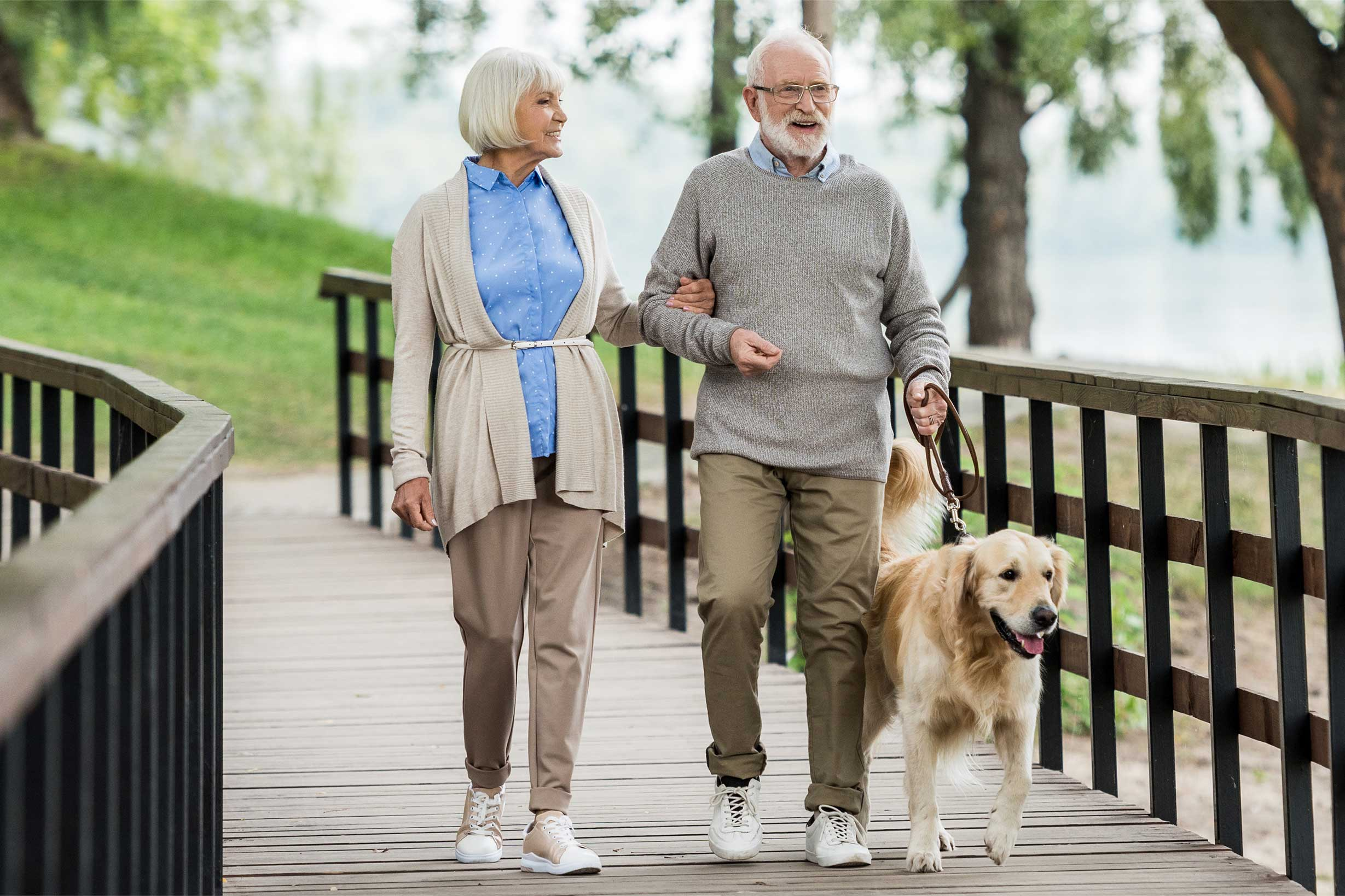 Walking Is An Important Activity For Seniors